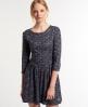 Superdry Fall Print Tunic Dress Multi