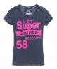 Superdry Saints T-shirt Navy