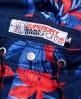 Superdry Vacation Paradise Swim Shorts Blue