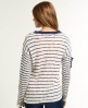 Superdry Slub Breton Knit White