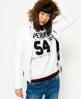 Superdry Veste à capuche à double zip Fuji Slim Blanc
