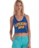 Superdry Cheerleader Vest Blue