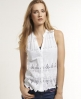 Superdry Broderie Blouse White