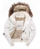 Superdry Study Duffle Jacket Cream
