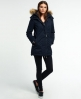 Superdry Microfibre Tall Windparka Jacket Navy