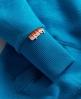 Superdry Double Swoosh Hoodie Blue