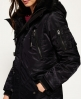 Superdry SD-4 Parka Coat Black