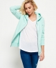 Superdry LA Athletic Zip hoodie Turquoise