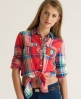Superdry Lumberjack Skater Shirt Red