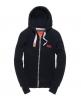 Superdry Orange Label Zip Hoodie Navy