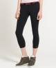 Superdry Premium Cropped Leggings Black