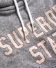 Superdry Westchester Sweatkleid  Dunkelgrau