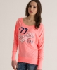 Superdry Burnout Saint T-shirt Pink