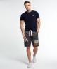 Superdry Trackster Sweat Shorts Dark Grey