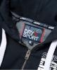 Superdry SD Sport Colour Block Zip Hoodie  Navy