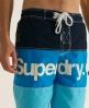 Superdry Tri Panel Boardshort Navy