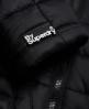 Superdry Cazadora con capucha Box Quilt Fuji Negro