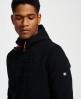 Superdry Gym Tech Embossed Hoodie Black