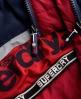 Superdry Dark Element Hooded Parka Jacket Navy