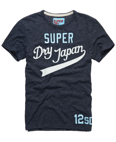 Superdry Simple Swoosh T-shirt Navy
