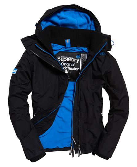 Superdry Superdry Pop Zip Arctic vindjakke med hætte
