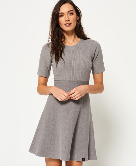 Superdry Lexi Fit-and-Flare-Strickkleid