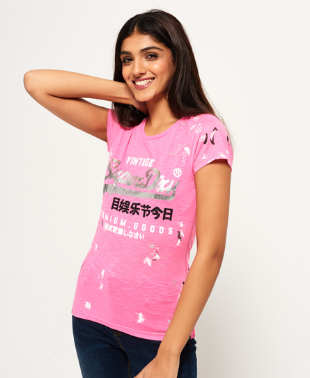 Superdry Superdry Premium Goods Doodle T-shirt
