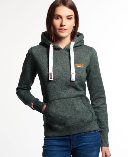 Superdry Orange Label Primary Hoodie Green