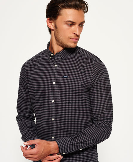 new hampshire grey Superdry Ultimate Oxford Shirt