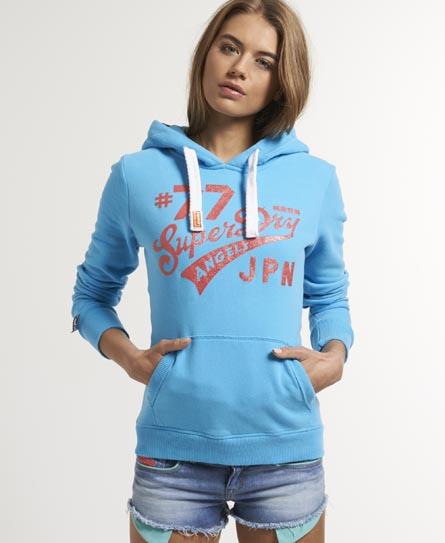 Superdry Saint Hoodie Blue