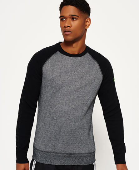 Gym Tech Raglan Crew Neck Sweatshirt