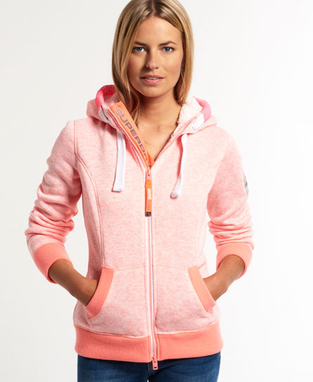 superdry sweat capuche zipp storm sweats capuche pour femme. Black Bedroom Furniture Sets. Home Design Ideas