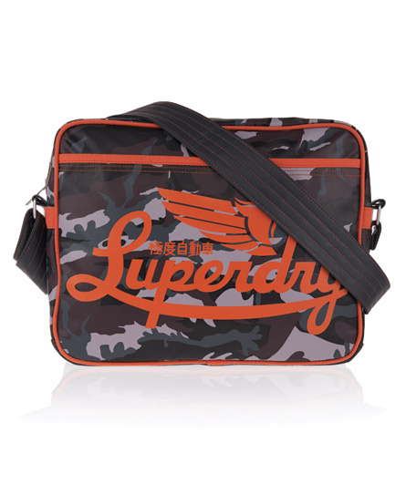 Superdry Winter Icarus Alumni Bag Grey