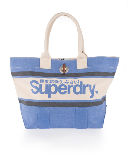 Superdry Brighton Tote Bag Blue