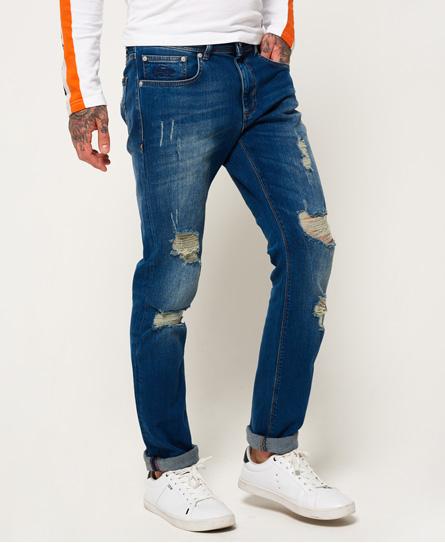 elektrikblau vintage Superdry Slim Jeans