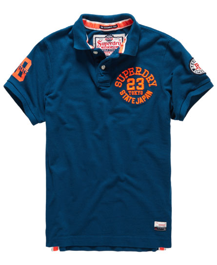 superdry super state pique polo shirt men 39 s polo shirts. Black Bedroom Furniture Sets. Home Design Ideas