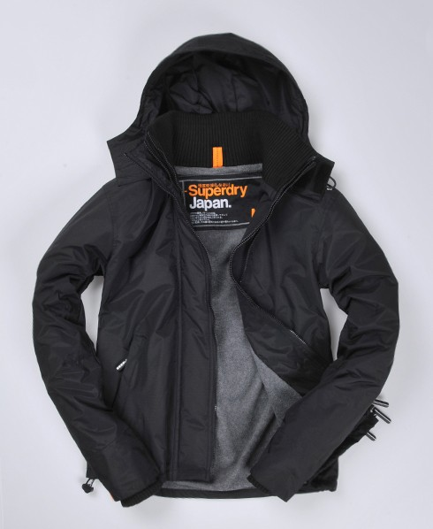 superdry polar windcheater jacke mit kapuze herren. Black Bedroom Furniture Sets. Home Design Ideas