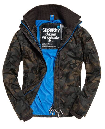 superdry technical pop zip windcheater jacke herren. Black Bedroom Furniture Sets. Home Design Ideas