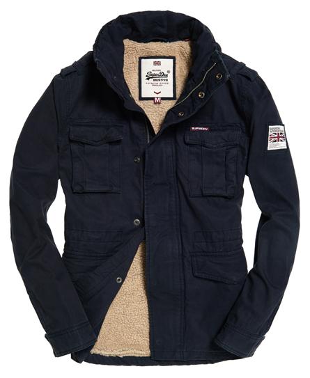 superdry veste de randonn e rookie heavy weather vestes pour homme. Black Bedroom Furniture Sets. Home Design Ideas