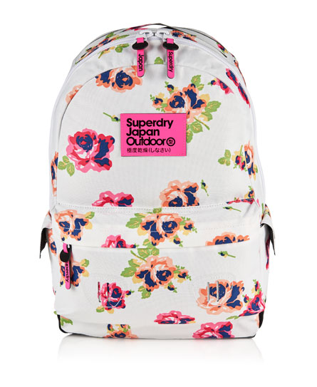 Womens Summer Blush Montana Rucksack In Optic Superdry
