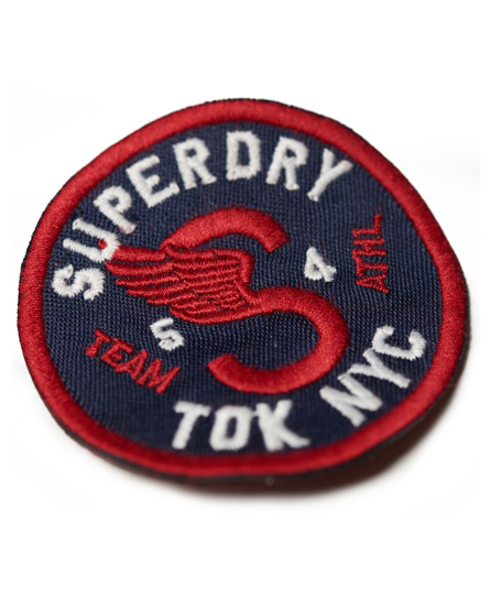 Superdry Pack de parches de tela