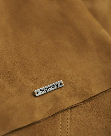 Superdry Premium Billie Suede Skirt