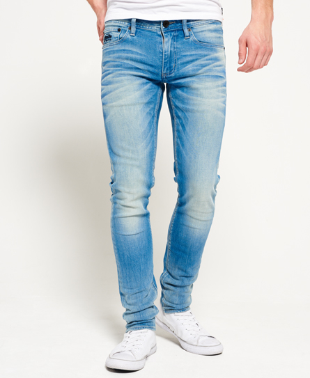 retro blue Superdry Skinny Jeans