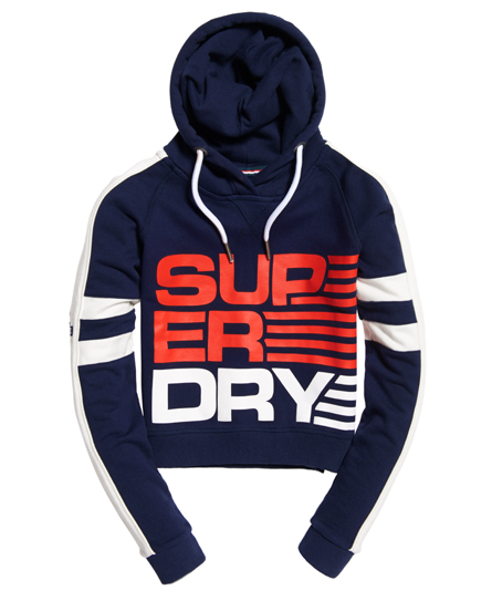 Superdry Shortie Crop Hoodie