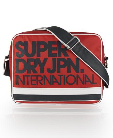 Superdry Nylon International Bag Red