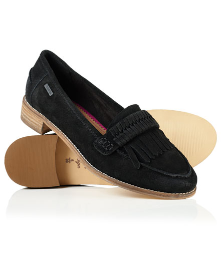 schwarz Superdry Kilty Loafer