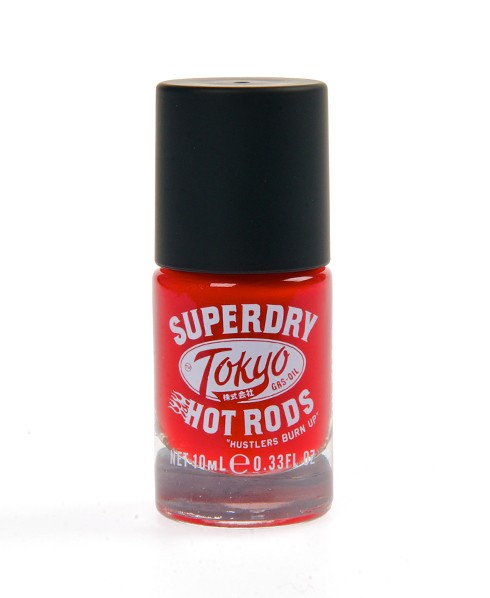 Superdry Nail Paint Red