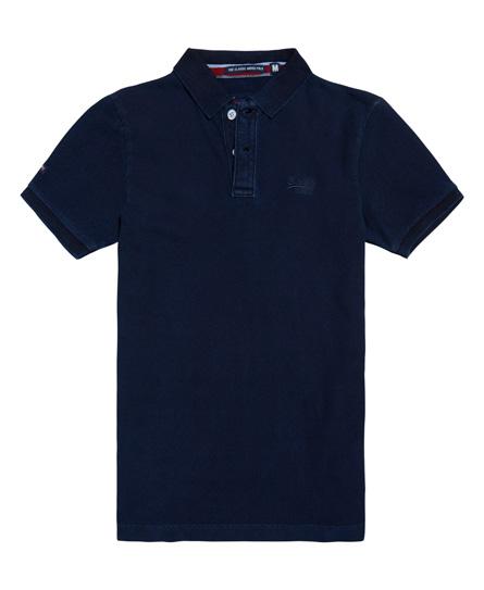 Superdry Classic Indigo Pique Polo Shirt