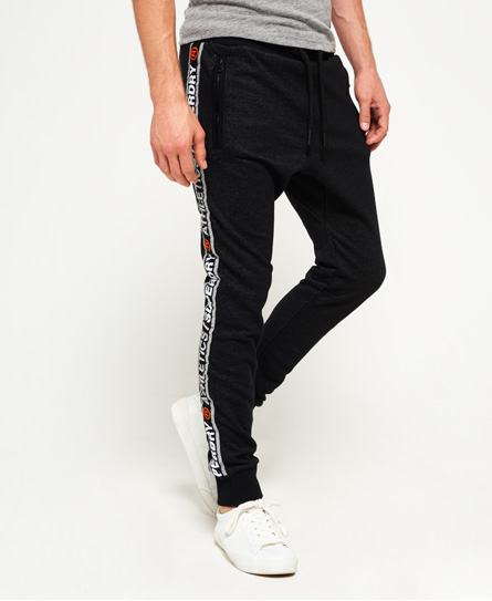 superdry stadium midnight black grit Superdry Stadium Joggers