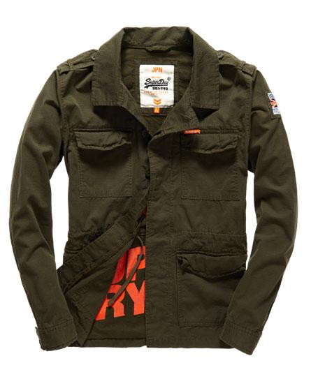 superdry blazer de style militaire rookie vestes pour homme. Black Bedroom Furniture Sets. Home Design Ideas